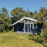 Holiday Home Knebel with a Fireplace 01