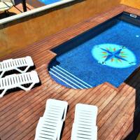 BR1 casa con piscina a 800m de la playa