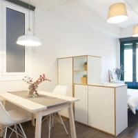 Modern Studio with Balcony - Sagrada Familia AB