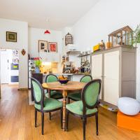Comfy and colourful flat - Buttes-Chaumont