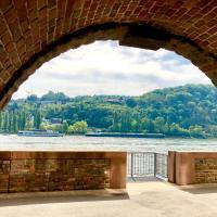 Haus am Rhein mit Sonnengarten