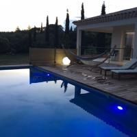 Villa avec piscine et vue sur le Luberon