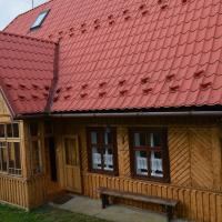 Przytulny dom na czarnym szlaku na Babią Górę