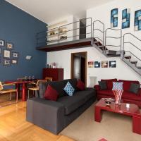 Fancy Blue Duomo Duplex Apartement