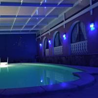 Finca tropical con piscina