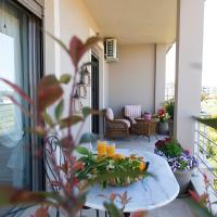 Destinesia Luxury Apt with Balcony,4min from the sea
