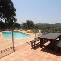 Villa avec piscine chauffee et vue panoramique