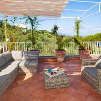 Villa Rusella with terrace & breathless sea views