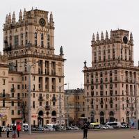 Apartamenty v tsentre Minska zh/d vokzal