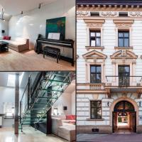 Art&Music modern apartment in 19th century house