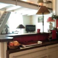 coquet studio en mezzanine
