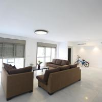 A 6 bedroom apartment in the prestigious Mishkenot Ha'uma project in Jerusalem.