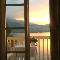 Ferienwohnung in Tegernsee mit traumhaftem See - und Bergblick