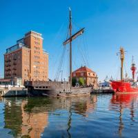 Appartment im Ohlerich Speicher in Wismar mit Stadt -und Meerblick