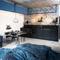 frederics blue designer loft
