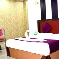 Rooms with 1 king size bedded + 2 single Cart Beds + AC