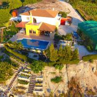 Villa Mouttali, beautiful secluded villa with private pool and sports area