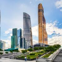 Skyscraper Apartments Moscow-City