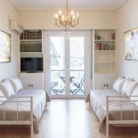 Acropoli's apartment, next to the metro