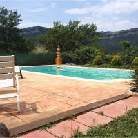 house with 2 bedrooms in tagamanent, with wonderful mountain view, pool acces...