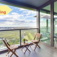 Panoramic view designer luxury apartment OP808