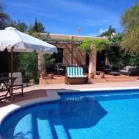 Es Cubells Villa Sleeps 6 Pool Air Con WiFi