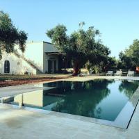 Spongano Villa Sleeps 6 Pool Air Con WiFi