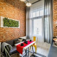 The red - industrial studio in the center of Budapest
