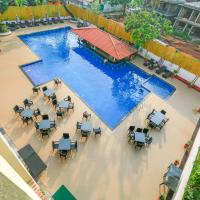 1 BHK with 2 pools and swim-up bar
