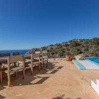 Port de Sant Miquel Villa Sleeps 10 Pool Air Con