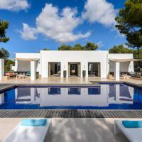 Sant Rafel Villa Sleeps 12 Pool Air Con WiFi