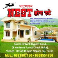 Nest, New Mahableshwar, Farmhouse Villa, 3 BHK, Mini Swimming pool, Amidst Big farm