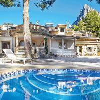 Finestrat Villa Sleeps 6 Air Con WiFi