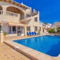 Calpe Villa Sleeps 10 Pool