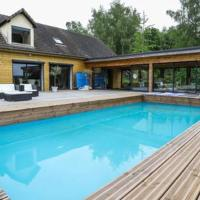 Villa ambiance cottage avec piscine et jacuzzi