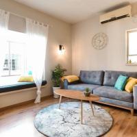 Beautiful trandy 2 bedroom+ living room