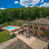 Sainte-Cecile-du-Cayrou Villa Sleeps 14 Pool WiFi