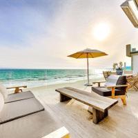 $8.5MM La Costa Beachfront Villa with 5 beds!