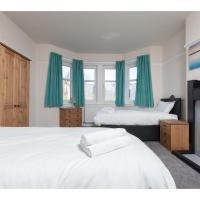 Large 5br house for 10 near Murrayfield