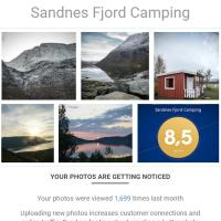 Sandnes Fjord Camping, Storslett, Nordreisa, Troms