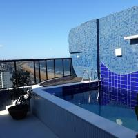 Salvador: Duplex Deluxe Exclusive - Vistar mar e piscina privativa
