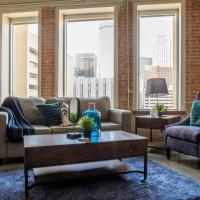 Coastal Casual @ Historic Loft | Near Anywhere 1BR
