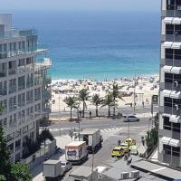 Charmoso apartamento a 1 quadra da praia