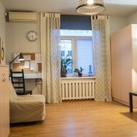 1 room apartment near metro and rail station