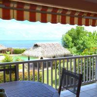 Kahaia flat - Paea Tahiti - beachfront- 1 bedr - WiFi - pool/jacuzzi- 3pers