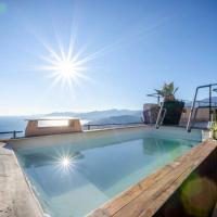 Hintown Astonishing Sea view Apartment in Verezzi