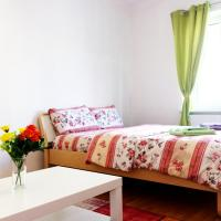 a beautiful, big and cozy rooms in the city center