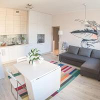 Bright and laid-back 1-bed Apartment