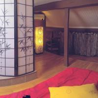 chambre individuelle avec baignoire balneo