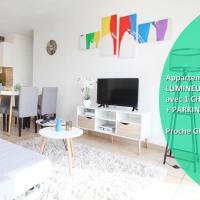 Bel Appartement, LUMINEUX et COSY, proche GENEVE